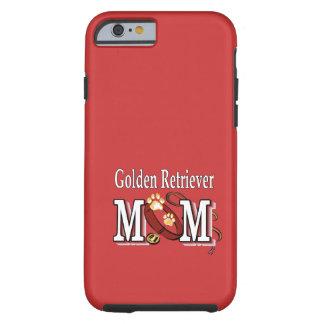 Regalos de la mamá del golden retriever funda para iPhone 6 tough