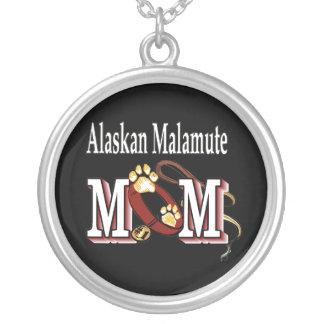 Regalos de la mamá del Malamute de Alaska Colgante Redondo