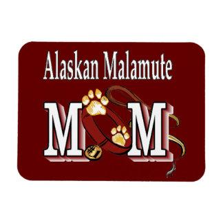 Regalos de la mamá del Malamute de Alaska Rectangle Magnet