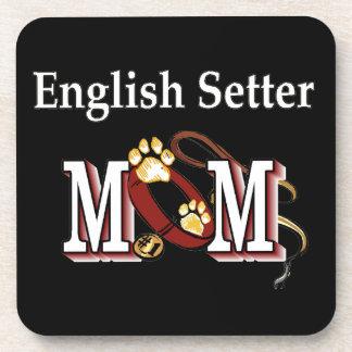 Regalos de la mamá del organismo inglés posavasos de bebidas