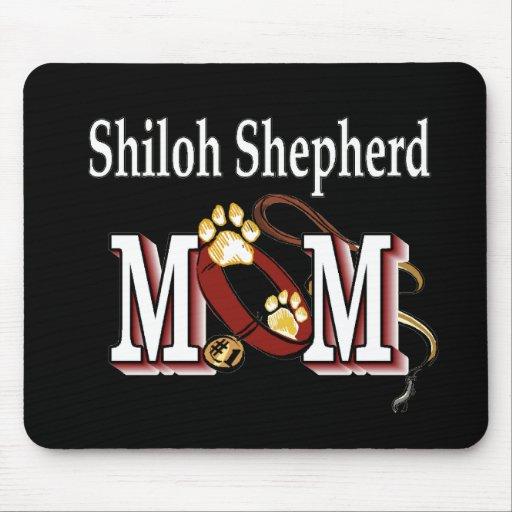 Regalos de la MAMÁ del pastor de Shiloh Alfombrilla De Ratón
