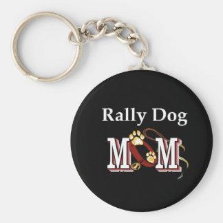 Regalos de la mamá del perro de la obediencia de l llaveros personalizados