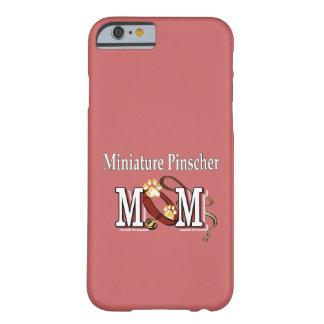 Regalos de la mamá del Pinscher miniatura Funda De iPhone 6 Barely There