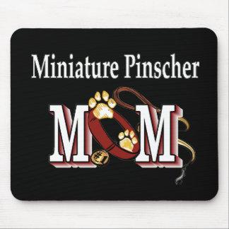 Regalos de la mamá del Pinscher miniatura Alfombrilla De Ratones