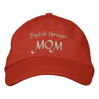 Regalos de la mamá del saltador inglés gorra bordada