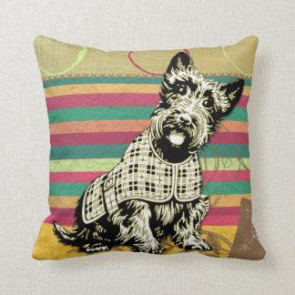 Regalos de la moda de Terrier del escocés del Cojín