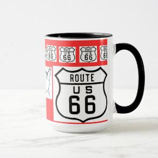 Regalos de la muestra del vintage de la ruta 66
