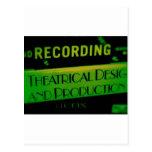 Regalos de la música clásica y tarjetas de la músi postal