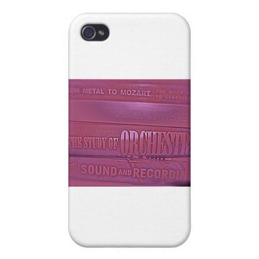 Regalos de la música de jazz iPhone 4 protector