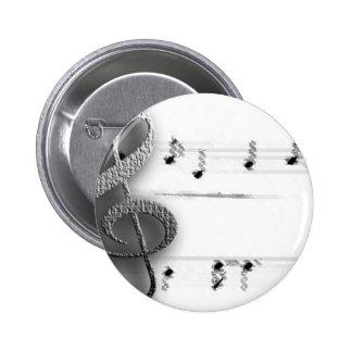 Regalos de la música del Clef de la música de la d Pins