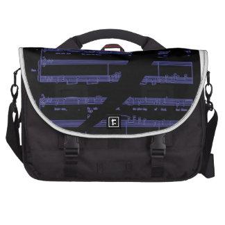 Regalos de la música para los profesores y los edu bolsas de ordenador