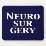 Regalos de la neurocirugía tapete de raton