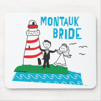 Regalos de la novia de Montauk Alfombrilla De Ratones