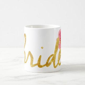 Regalos de la novia taza de café