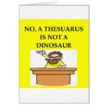 Regalos de la paleontología tarjetas