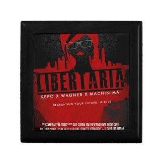 Regalos de la película de Libertaria Caja De Recuerdo