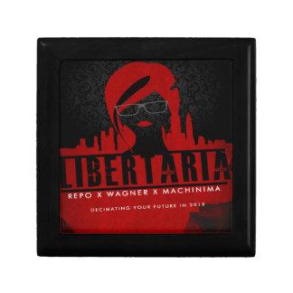Regalos de la película del arte de Libertaria Cajas De Regalo