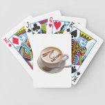 Regalos de la pesca con mosca barajas de cartas
