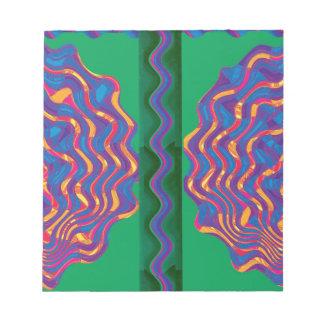 Regalos de la plantilla del calor de la onda de la bloc