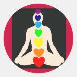 Regalos de la posición de Lotus de la yoga de Chak Etiquetas