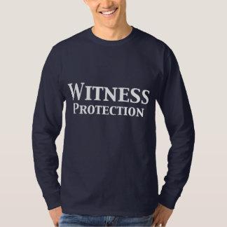 Regalos de la protección del testigo playera