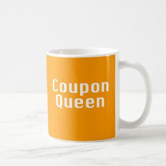 Regalos de la reina de la cupón taza de café