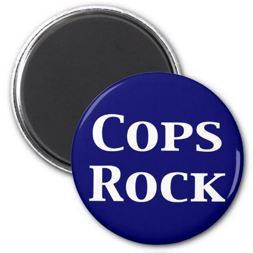 Regalos de la roca de los polis imán de frigorifico