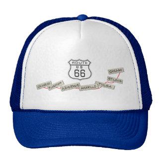Regalos de la ruta 66 gorra