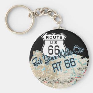 regalos de la ruta 66 llavero redondo tipo pin