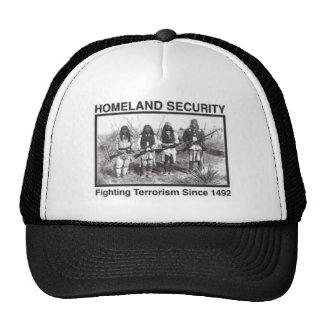 Regalos de la seguridad de patria del nativo gorro