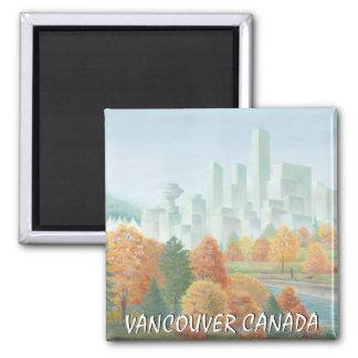 Regalos de la señal de Vancouver del recuerdo del Imán Cuadrado