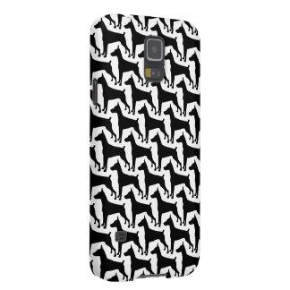 Regalos de la silueta del Doberman Carcasas Para Galaxy S5