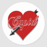 Regalos de la tarjeta del día de San Valentín del Etiquetas Redondas