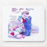 Regalos de la tarjeta del día de San Valentín del  Alfombrilla De Raton