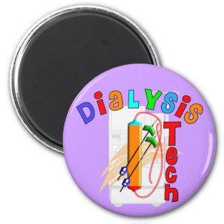 Regalos de la tecnología de la diálisis imán redondo 5 cm