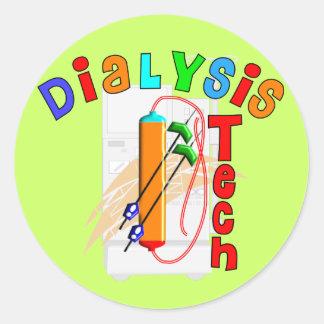 Regalos de la tecnología de la diálisis etiquetas