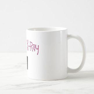 Regalos de la tecnología de la radiografía taza de café