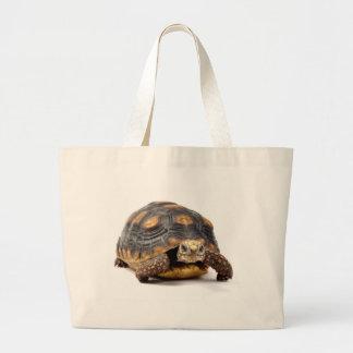 Regalos de la tortuga de Redfoot Bolsa Tela Grande