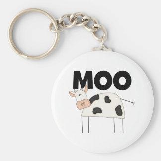 Regalos de la vaca llaveros personalizados