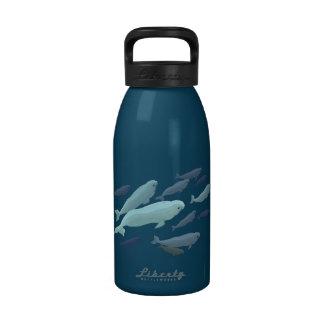 Regalos de la vida marina de la botella de agua de