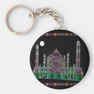 REGALOS de la VUELTA del SORTEO del fiesta: El Taj Llavero Redondo Tipo Pin