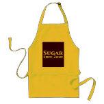 Regalos de la zona franca del azúcar delantales