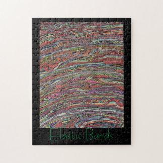 Regalos de las bandas elásticas puzzle con fotos