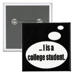 Regalos de las camisetas del estudiante que hablan pin