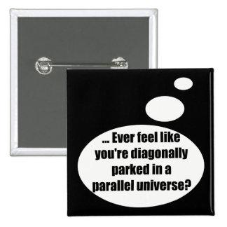 Regalos de las camisetas del universo que hablan p pin cuadrado