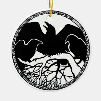 Regalos de las decoraciones del cuervo del negro d adorno para reyes