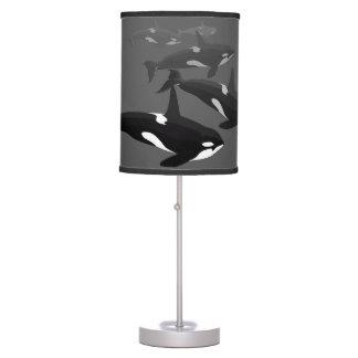 Regalos de las lámparas del arte de la orca de la  lámpara de mesa
