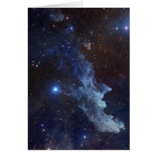 Regalos de las nebulosas tarjeta de felicitación