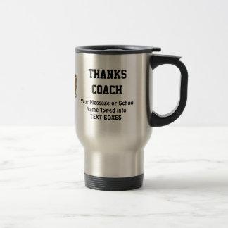 Regalos de las tazas de café del fútbol para el