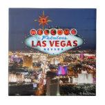 Regalos de Las Vegas Azulejo Cuadrado Pequeño